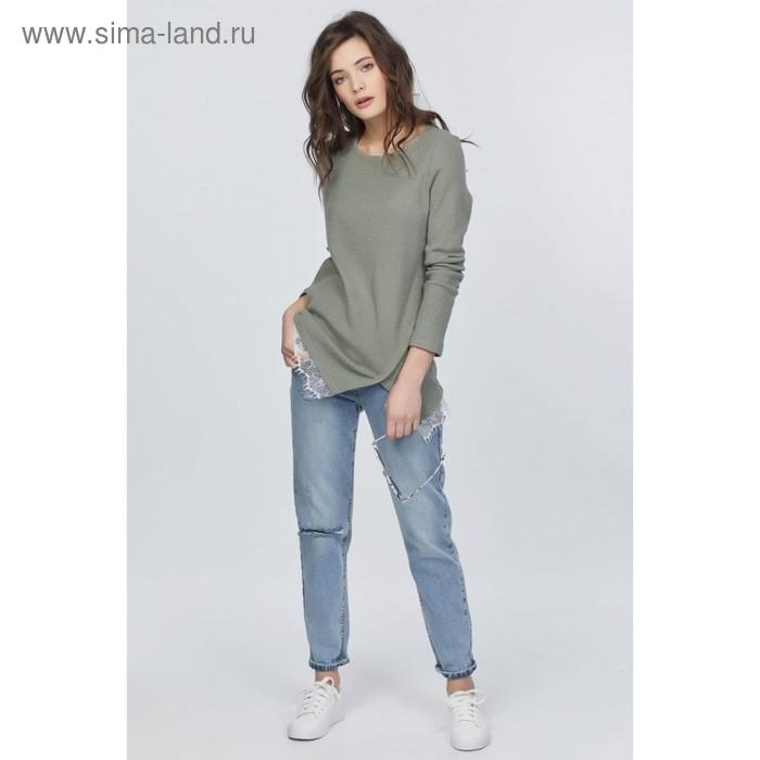 Джемпер женский, размер 42, цвет светло-зелёный 540-15