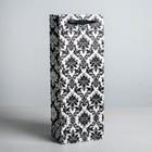 Пакет ламинат вертикальный алкогольный «Роскошь», 13 х 36 х 10 см