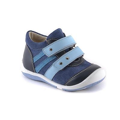 Ботинки ясельные арт. 15-154-2 (синий/голубой) (р. 22)
