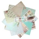 """Набор бумаги для скрапбукинга""""Дыхание весны"""" 11 листов  30,5х30,5 см плотность 190гр/м2"""