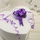 Бант-шар №1,8 простой фиолетовый - фото 8443433