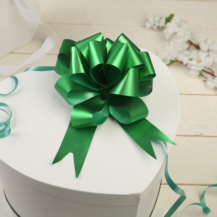 Бант-шар №3 простой зелёный - фото 8443438