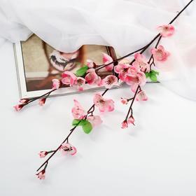 """Цветы искусственные """"Сакура нежность"""" 4*85 см, розовый - фото 1692307"""