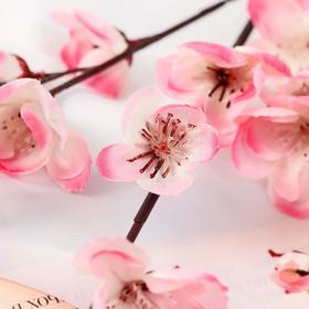 """Цветы искусственные """"Сакура нежность"""" 4*85 см, розовый - фото 1692308"""