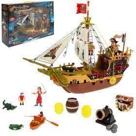 Набор пиратов «Грозный парус», с кораблем и пиратами