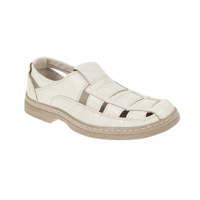 Туфли летние мужские арт. 92149-3 (бежевый) (р.40)
