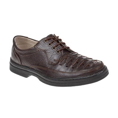 Туфли летние мужские арт. 92267-2 (коричневый) (р.42)