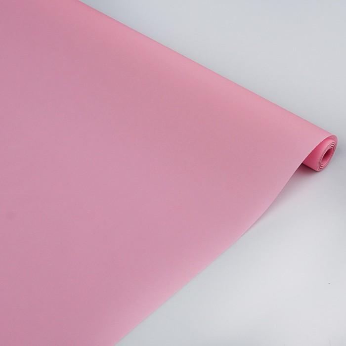 """Пергамент флористический """"Розовый"""", 0,5 х 10 м, 58 г/м2"""
