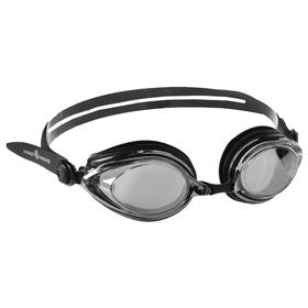 Очки для плавания Techno Mirror II, M0428 03 0 01W, цвет чёрный