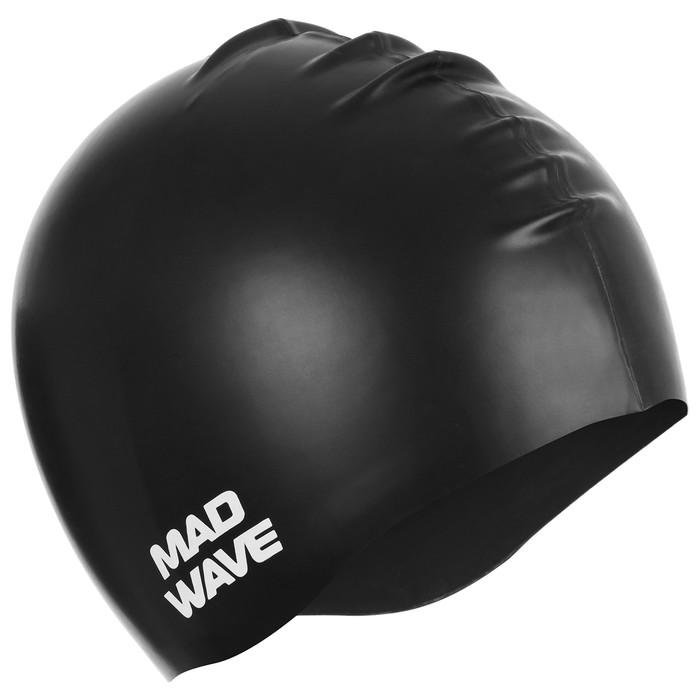 Силиконовая шапочка для плавания INTENSIVE, M0535 01 0 01W, цвет чёрный