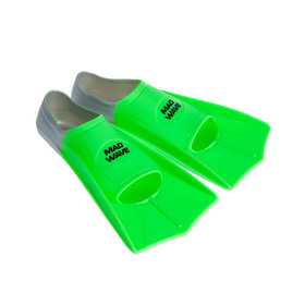 Flippers Training, 35-36, color green.