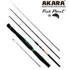 Удилище фидерное Akara L17033 Fish Point TX-20 3,3м, тест 40-80-120 гр