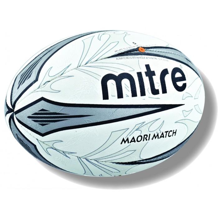 Мяч регбийный MITRE MAORI MATCH 4P 5 BB4109WA1