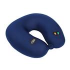 Массажная подушка uNeck blue, 6 режимов, вибромассажёр