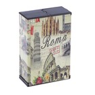 "Case ""Rome"", in the form of a pack of cigarettes 6x9.5 cm"