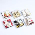 """Case """"Travel around the world"""". 9x10 cm"""