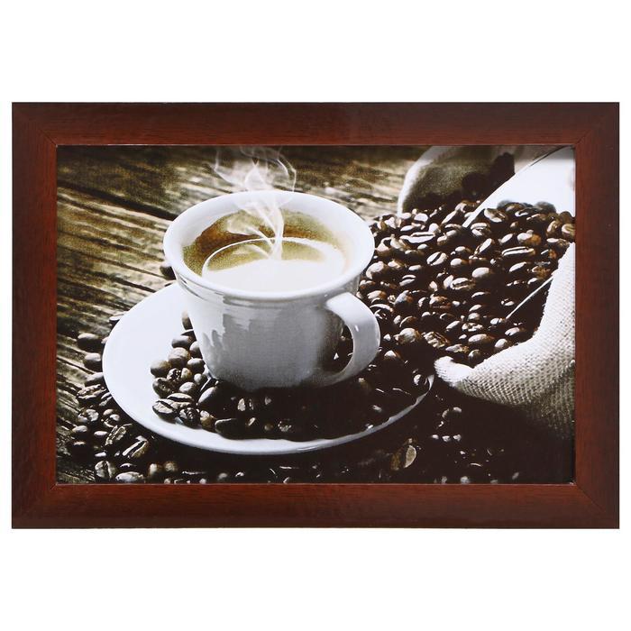 """Картина """"Горячий кофе"""" 27*37 см - фото 9730624"""