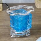Светильник арома куб плетёнка 12*8 см