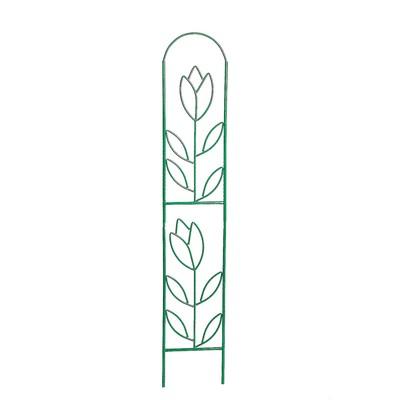 """Шпалера """"Тюльпан"""", 180 х 35 х 1 см, разборная, металл"""