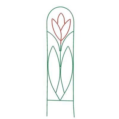 """Шпалера """"Тюльпан-2"""", 194 х 47 х 1 см, металл"""