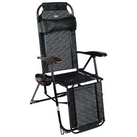 Кресло-шезлонг КШ3/5, 82 x 59 x 116 см, венге