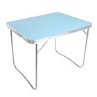 Стол 790х605х610мм, голубой ССТ4