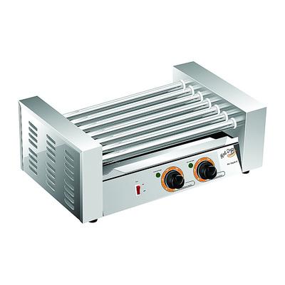 Гриль Gastrorag EL-WY-007B, 7 роликов, 2 зоны нагрева, 50-250°, 1.33 кВт