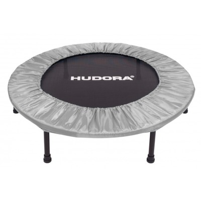 Фитнес-батут HUDORA Fitness Trampoline 96 cm, складной, цвет серый