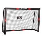 Ворота футбольные HUDORA Pro Tect 180, цвет черно-красный