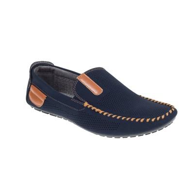 Мокасины мужские арт. LMM40087-04, цвет синий, размер 44