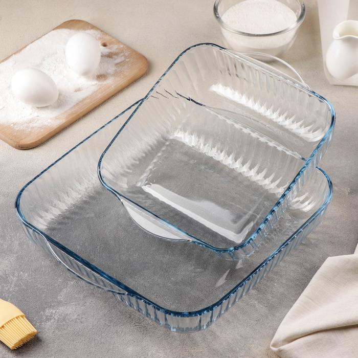 Набор посуды для СВЧ, 2 предмета: 2 л, 3,5 л