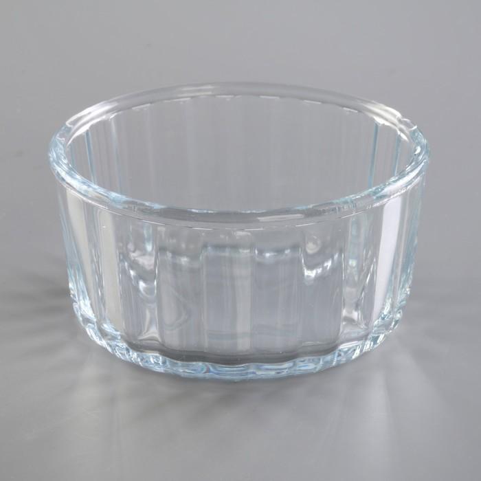 Форма для СВЧ, круглая, 10х10х5 см
