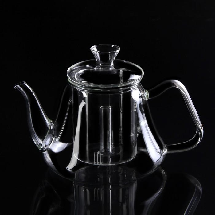 """Чайник заварочный 1,2 л """"Бинг"""", со стеклянным ситом"""