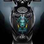 "Наклейка на мотоцикл ""Road King"", 25 х 18 см"
