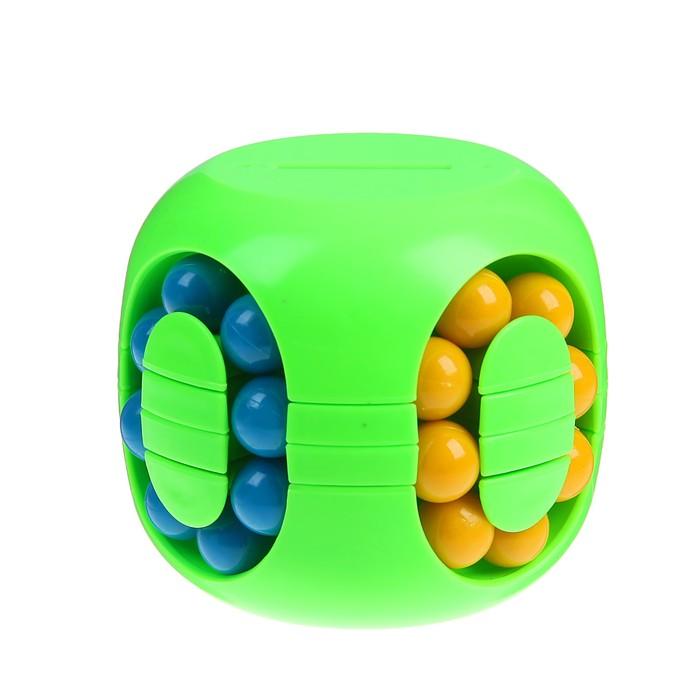 Головоломка «Шарики», с копилкой, цвет зелёный - фото 105586411