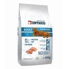 Сухой корм Ontario для кошек, морская рыба, 400 г