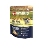 Сухой корм Ontario для щенков малых пород, курица и картофель, 750 г.