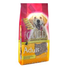 Сухой корм Nero Gold для собак, курица/рис, 2,5 кг.