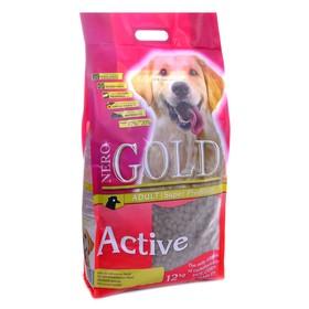Сухой корм Nero Gold для активных собак, курица/рис, 12 кг.