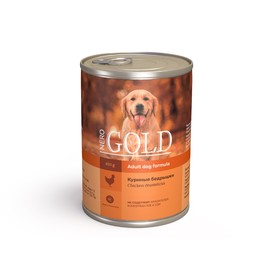 Влажный корм Nero Gold для собак, куриные бедрышки, ж/б, 410 г