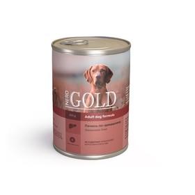Влажный корм Nero Gold для собак, печень по-домашнему, ж/б, 410 г