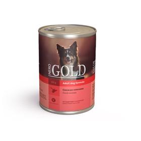 Влажный корм Nero Gold для собак, свежая оленина, ж/б, 410 г