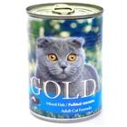 Влажный корм Nero Gold для кошек, рыбный коктейль, ж/б, 410 г