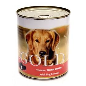 Влажный корм Nero Gold для собак, свежая оленина, ж/б, 810 г