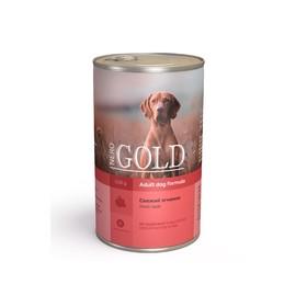 Влажный корм Nero Gold для собак, свежий ягненок, ж/б, 1250 г