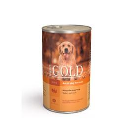 Влажный корм Nero Gold для собак, индейка и утка, ж/б, 1250 г