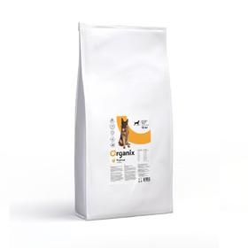 Сухой корм Organix для собак крупных пород, курица 18 кг