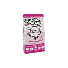 """Сухой корм Barking Heads """"Мудрые года"""" для кошек старше 7 лет, лосось и яйцо, 1,5 кг"""
