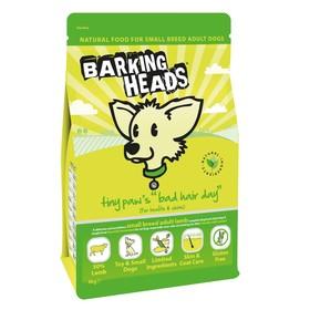 Сухой корм Barking Heads для собак малых пород, ягненок/рис, 4 кг.
