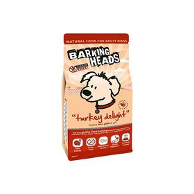 Сухой корм Barking Heads для собак, беззерновой, индейка/батат, 12 кг.